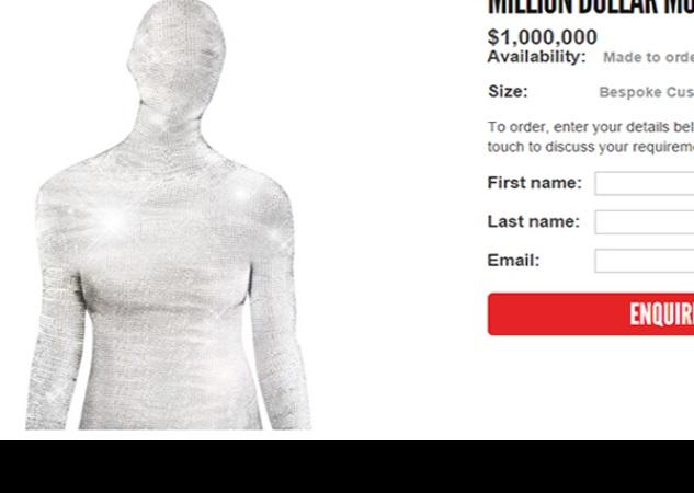 el disfraz de halloween que cuesta 1.6 mdd