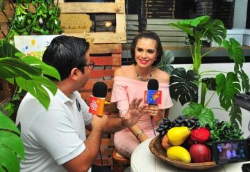 """Andrea Aysa Valenzuela """"porte y  carisma"""" la embajadora de Emiliano Zapata"""