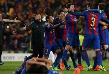 Remontadas históricas del Barcelona en el Camp Nou