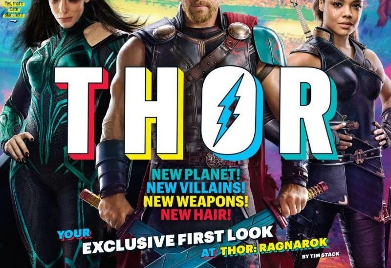 Thor con nuevos personajes... y el cabello corto