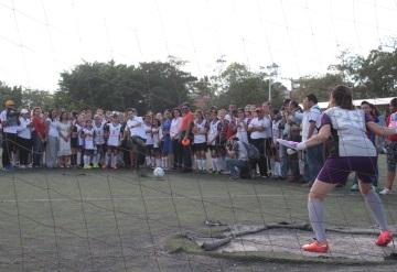 Inicia la Liga Femenil de Futbol Amateur Scotianbank en Villahermosa