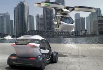 Conoce el vehículo eléctrico modular que puede moverse por tierra y aire