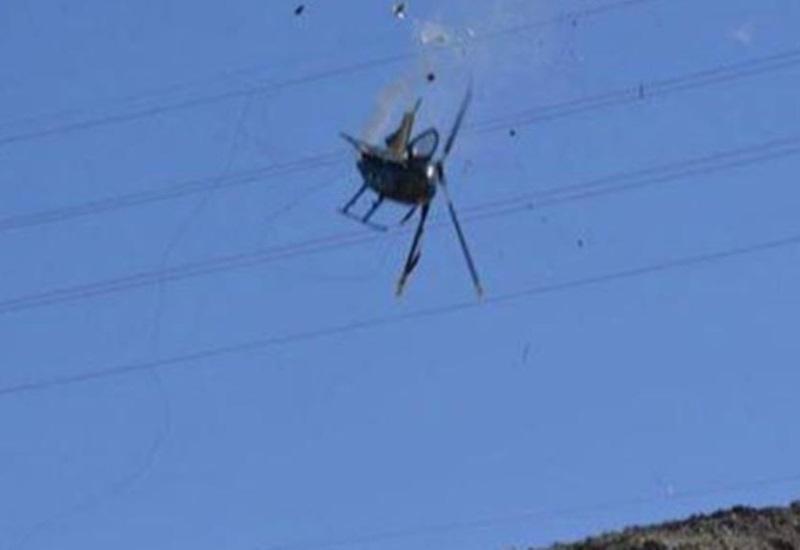 Cae helicóptero de la Policía Estatal en Mexicali; reportan 4 muertos