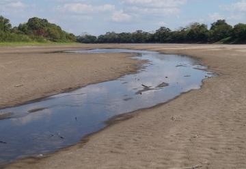 Ríos en Balancán, Macuspana y Nacajuca resisten niveles mínimos