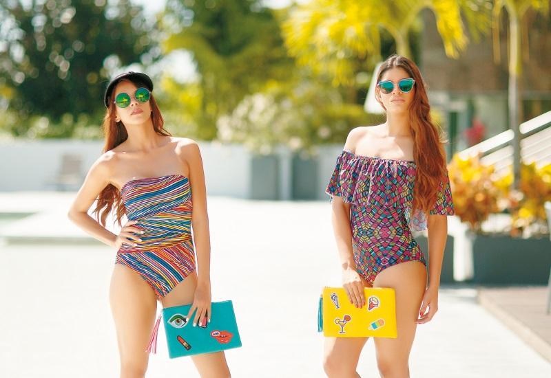 Karina Gallegos y Aranza Molina modelan primavera ´17