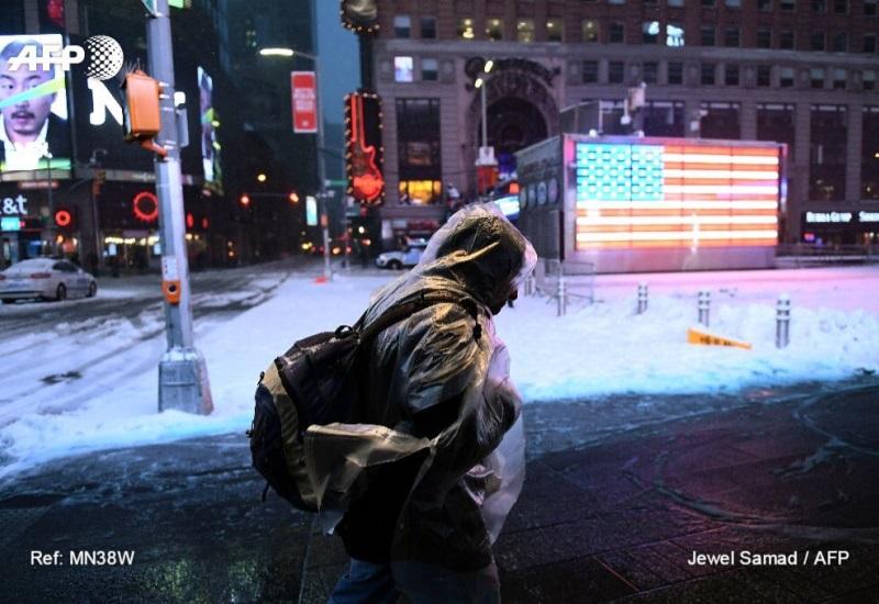 """Imágenes de la tormenta invernal """"Stella"""" en Nueva York"""