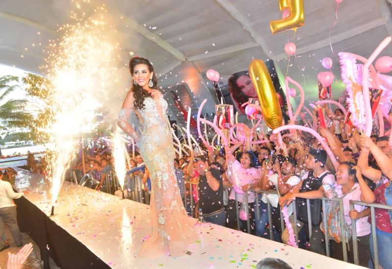 Gran noche de gala se vivió en el certamen Señorita Ujat