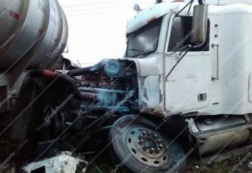 Carambola en la carretera Cárdenas-Coatzacoalcos deja varios heridos