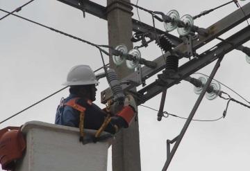 Seguirán este viernes y sábado suspensión de electricidad en colonias de Villahermosa