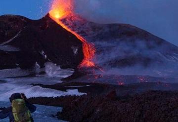Explosión del volcán Etna deja diez heridos