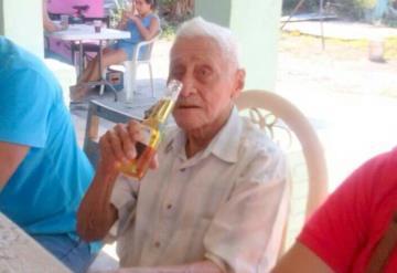Fallece abuelito de 105 años de edad; uno de los más longevos en Tabasco