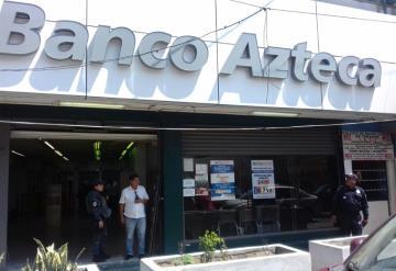 Asaltan a cuentahabiente de Banco Azteca en Villahermosa