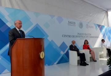 Inauguran Centro de Investigación Farmacológica en el INCan