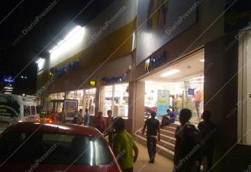 Hombres armados asaltan Bancoppel de Carrizal