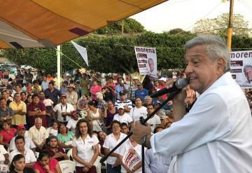 AMLO manda un mensaje a Enrique Peña Nieto y a Miguel Ángel Osorio Chong