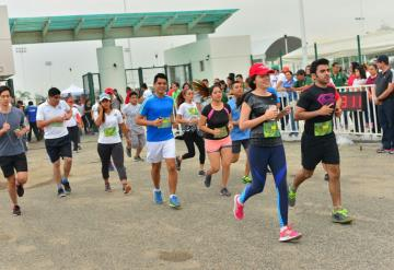 Tabasqueños disfrutaron de la XXXIV Carrera Atlética Benemérito de las Américas de la UJAT