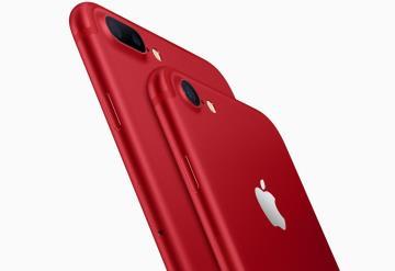 Apple lanza iPhone rojo y baja precio del iPad