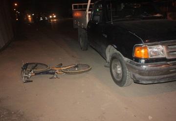 Atropella y mata a ciclista en Casa Blanca; deja abandonado su vehículo