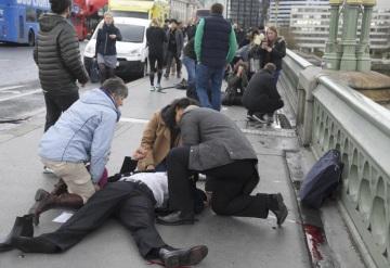 Atentado en Londres ha cobrado la vida de cuatro personas