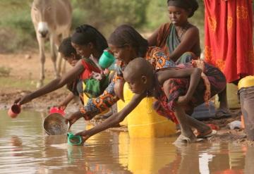 Al año 3,5 millones de personas mueren por falta de agua