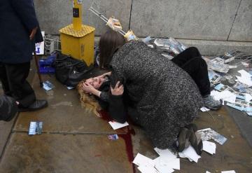 Tiroteo afuera del Parlamento británico, reportan 12 heridos