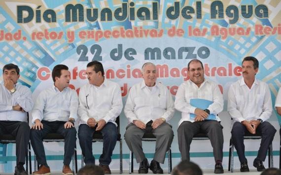 Inaugura ANJ el primer Foro Estatal del Día Mundial del Agua en Tabasco