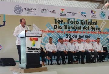 Prevé Conagua 140 mdp para obras de infraestructura hidráulica en Tabasco