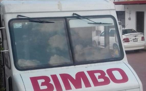 Asaltan camión de Bimbo; ladrones huyen hacia Chiapas