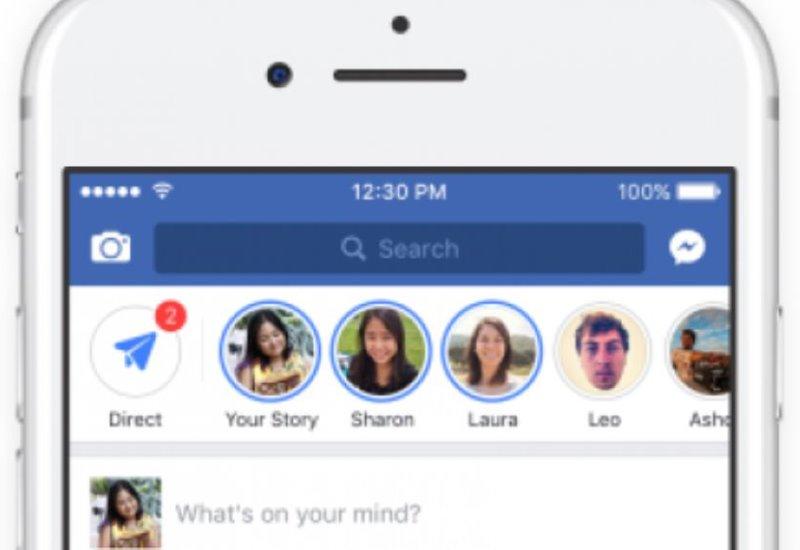 Facebook añade historias en su aplicación principal