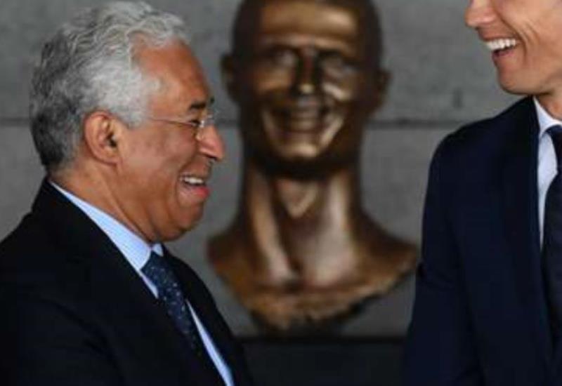 Este peculiar busto del rostro de Cristiano Ronaldo se hace viral