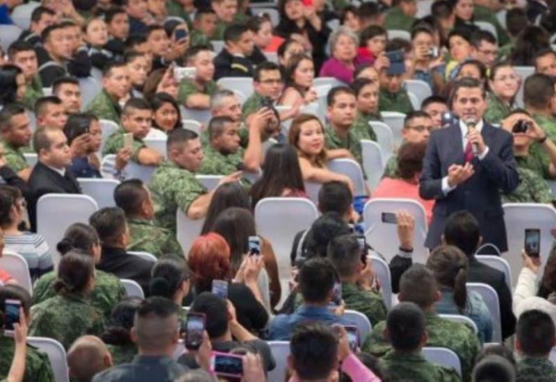 Peña Nieto: ´La crisis está en la mente´ de los mexicanos