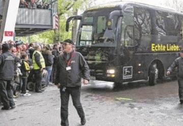 Suspenden encuentro entre Borussia Dortmund - Mónaco tras explosión de autobús