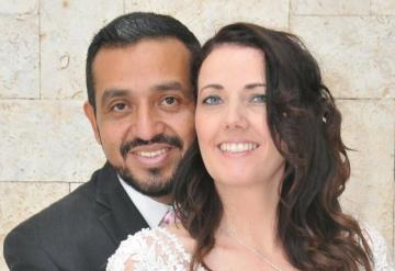 Celeste Nicole Francesconi y el Psic. Felipe de J. Rincón Aguirre unieron sus vidas