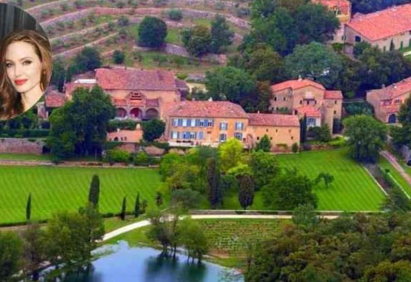 Angelina Jolie pagó 23 millones de dólares por esta mansión