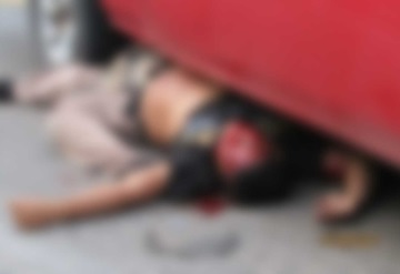 Motociclista muere tras chocar contra camioneta