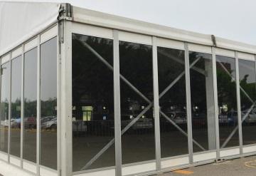 Arena Flor casi lista para los últimos tres eventos de pre- Feria