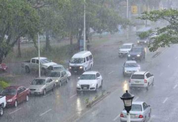 Se estiman chubascos con tormentas puntuales fuertes en Tabasco