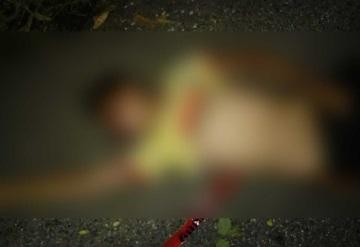 Menor de 13 años es asesinado para robarle su moto