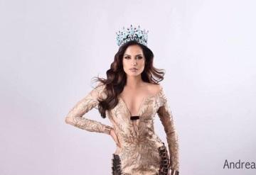 Andrea Meza, Miss México 2017 será jurado en Elección de Flor Tabasco