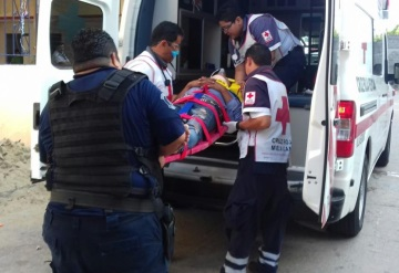 Presunto ladrón se cae desde un segundo piso tras ser descubierto