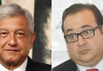 Estrategia del PRI busca involucrar a AMLO con Javier duarte
