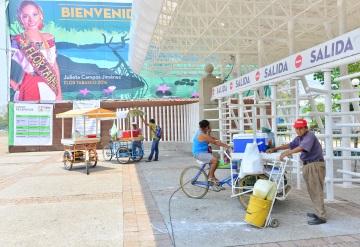 Parque Tabasco listo para la Feria; atracciones llegan