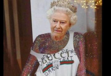Rihanna se burla de la Reina Isabel en Instagram