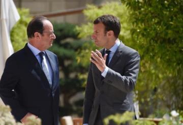 """Hollande pide el voto para Macron y considera a Le Pen """"un peligro"""" para Francia"""