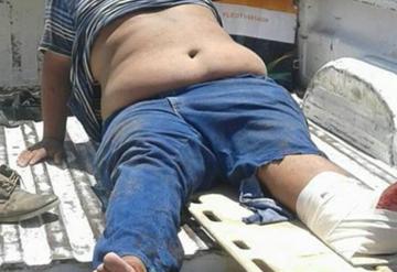 Ladrón se fractura la pierna al caer de 8 metros de altura