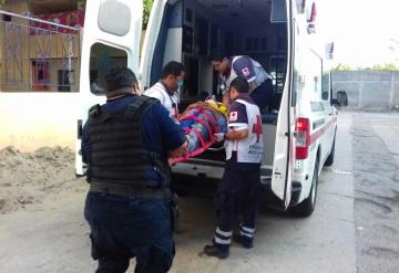 Presunto ladrón cae de 2do piso en Arboledas