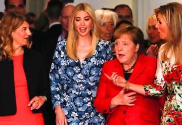 Ivanka Trump se codea con las mujeres más poderosas del mundo