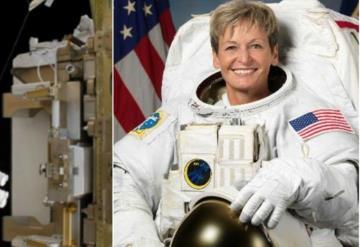 Astronauta rompe récord de mayor tiempo en el espacio