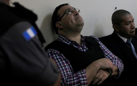 Javier Duarte denuncia maltrato en cárcel de Guatemala