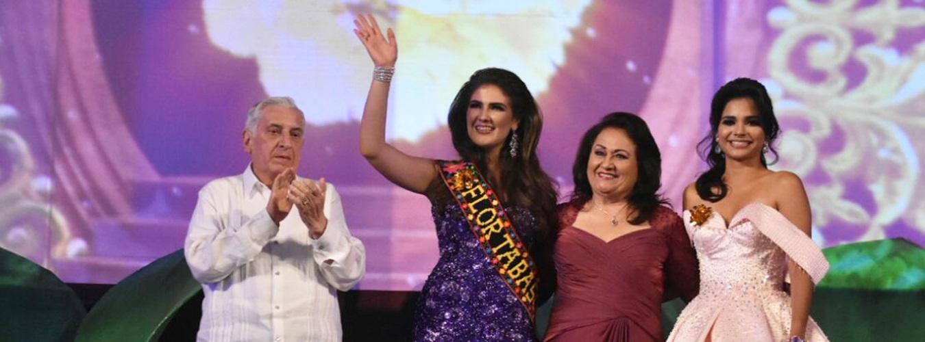 Bárbara Aranguren embajadora de Cárdenas es la Flor Tabasco 2017